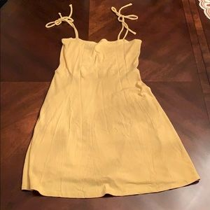 CUTE FOREVER 21 YELLOW DRESS